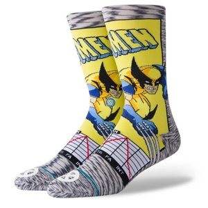New Stance Wolverine Socks size L & M
